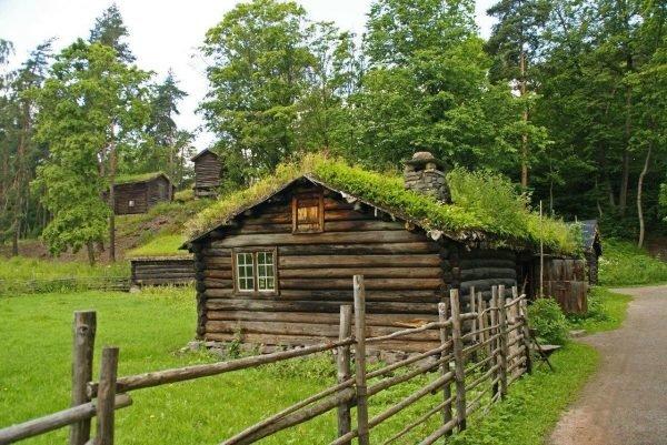 Травяная крыша