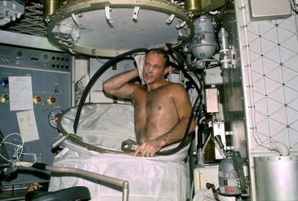 Космическая баня