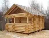 Чем покрыть крышу бани качественно и недорого