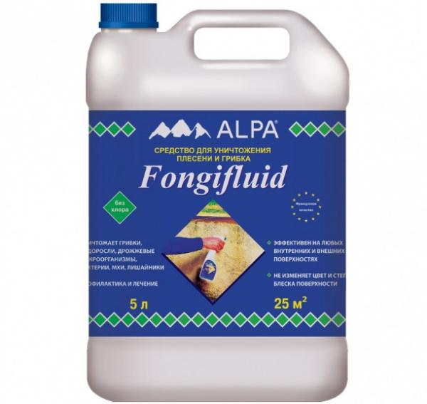 Отбеливатель для древесины Fongifluid
