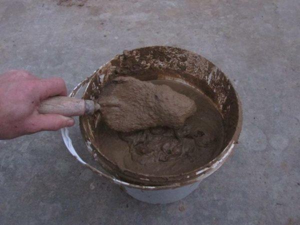 как обмазать печь глиной чтобы не трескалась