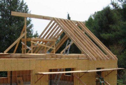Сборка стропил для двухскатной крыши своими руками: советы специалиста