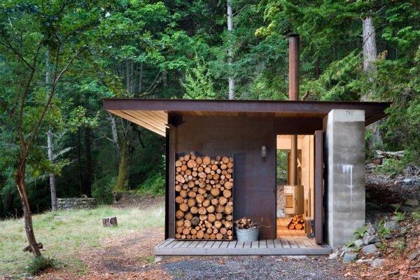 Уютная мини-баня