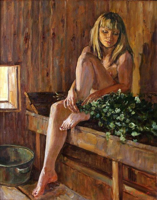 Екатерина Кизилова «В бане»