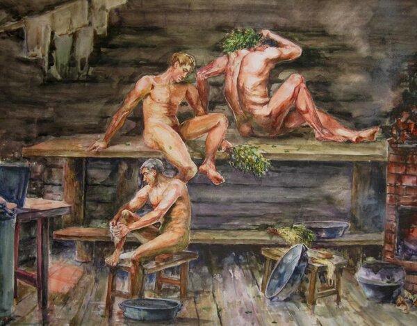 Павел Ерёменко «В бане»