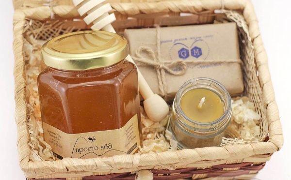 Мёд в коробке