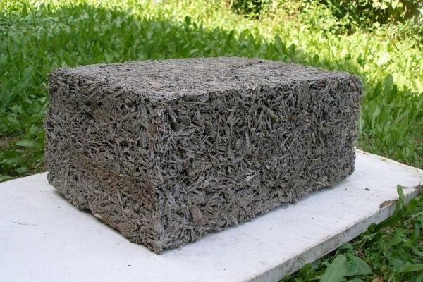 Блок опилкобетона