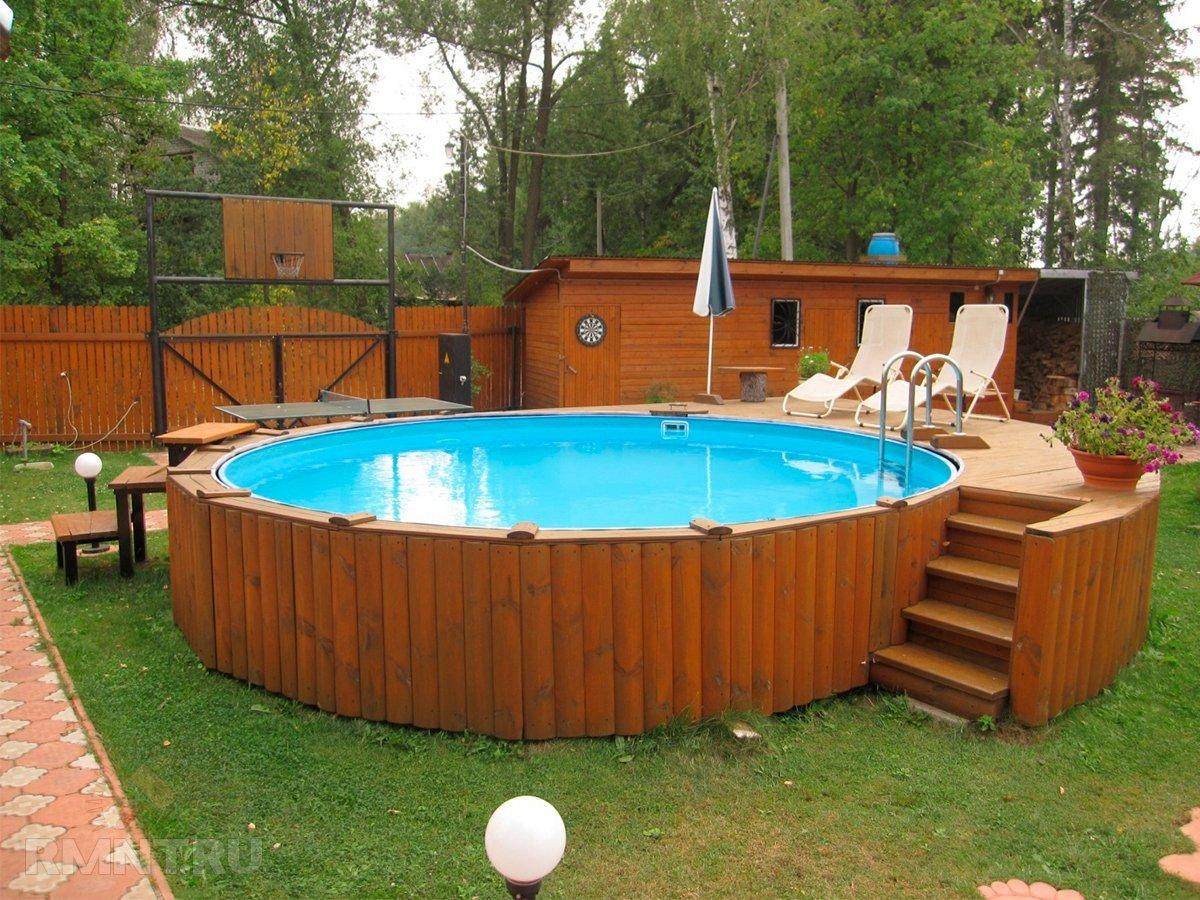 Каркасный бассейн своими руками в домашних условиях