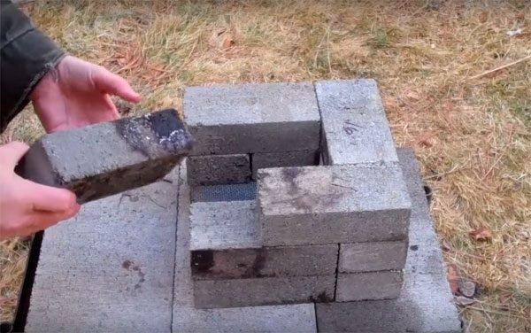 печь ракета длительного горения своими руками