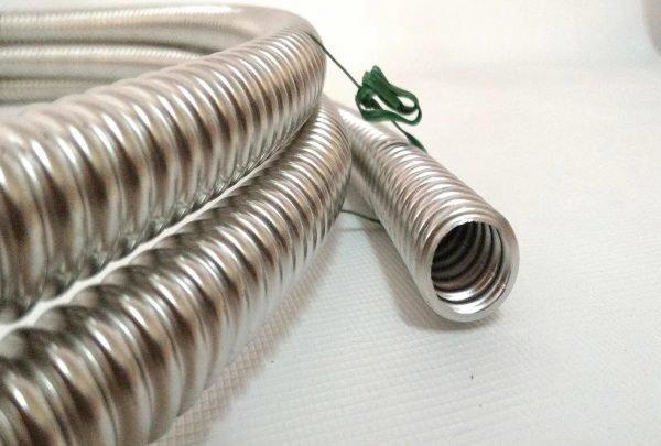 Металлическая труба для тёплого пола