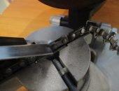 Заточка цепи для бензопилы станком