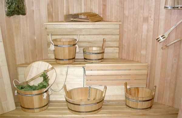 Хранение банного инвентаря на мансарде