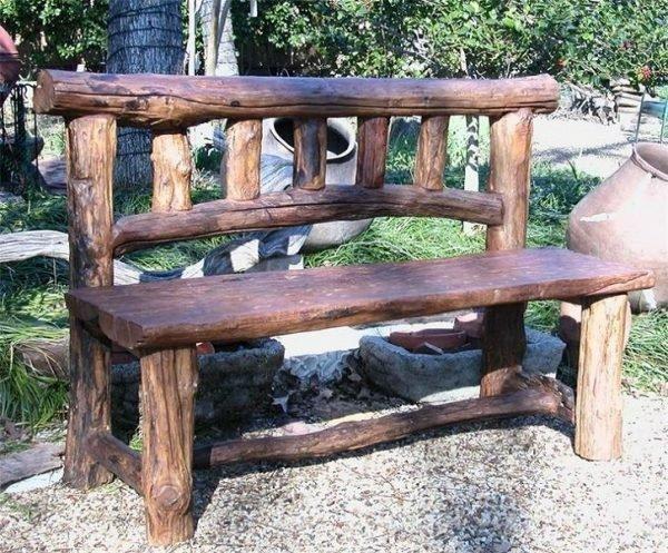 мебель из бревна своими руками