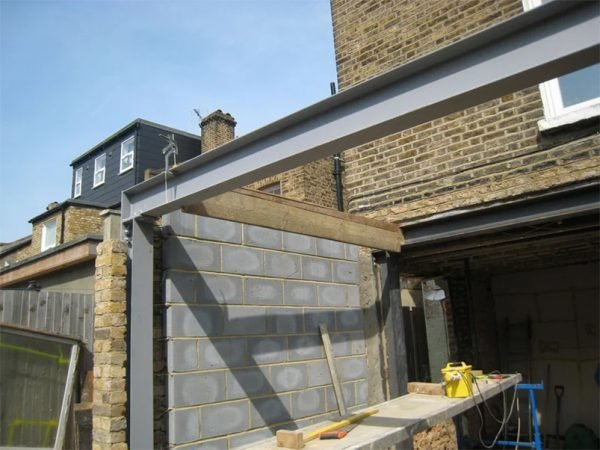 Создание основы для крыши