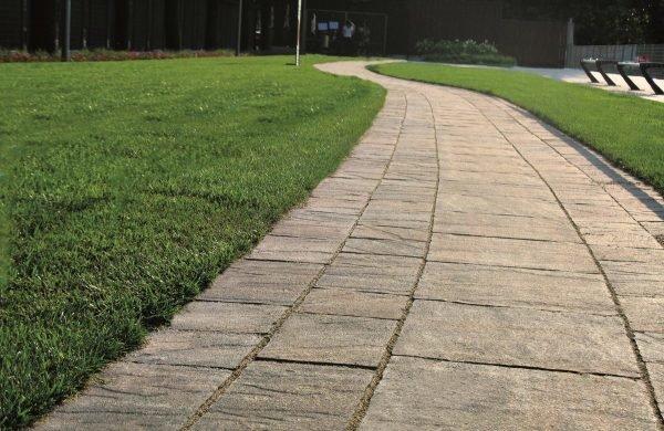 Дорожка из плитки на участке