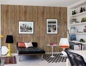 Комната с бамбуковыми обоями
