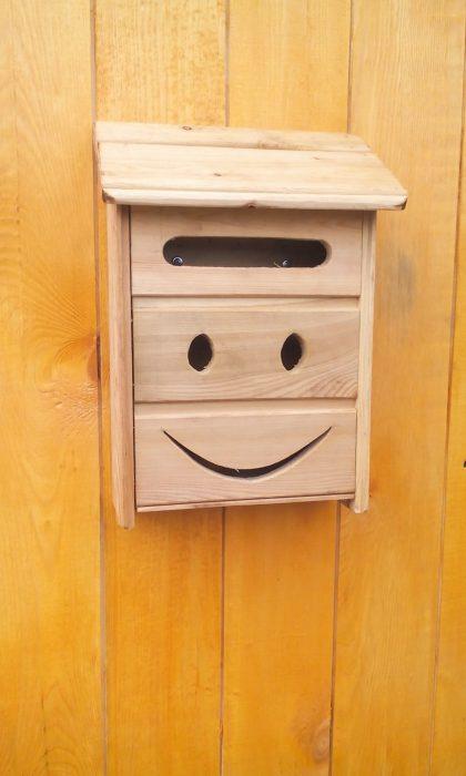 почтовый ящик из вагонки