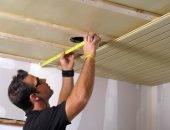 Ремонт дырки в потолке