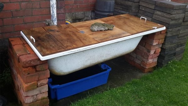 ёмкость для компоста из ванны