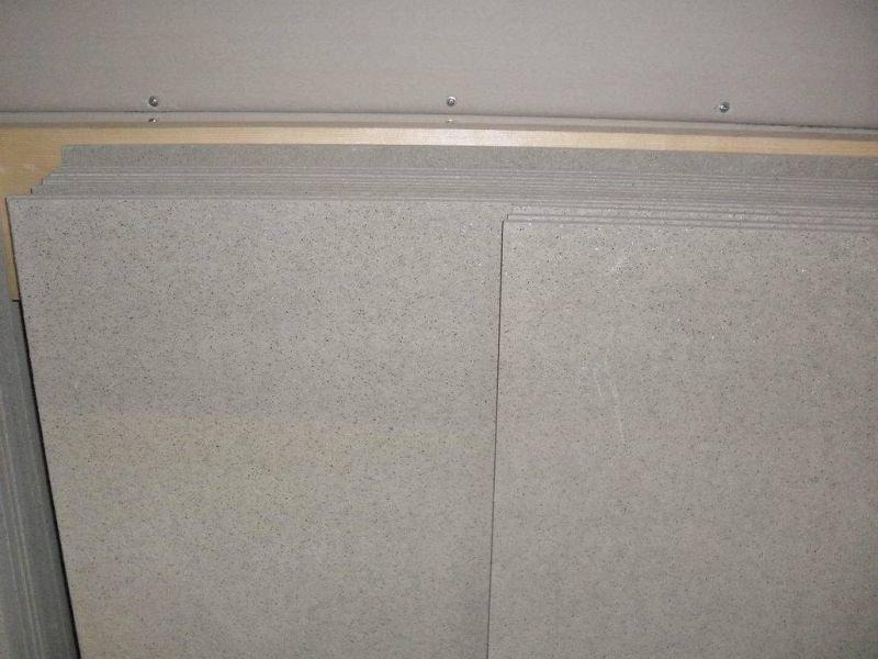 Как крепить минерит к деревянной стене: инструкция