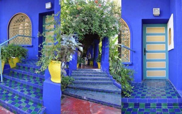 Марокканский коттедж Жардин Мажорель