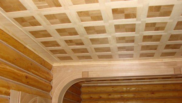 Декоративные рейки на потолке