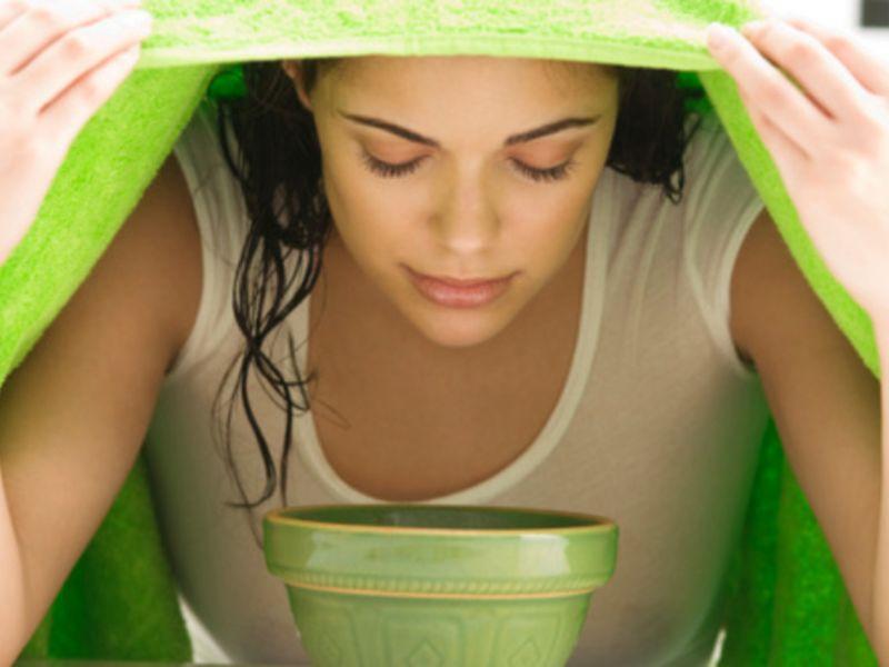 Паровая ванночка для лица от чёрных точек: правила приготовления и применения