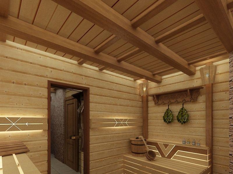 3 лучших варианта покрытия потолка в бане