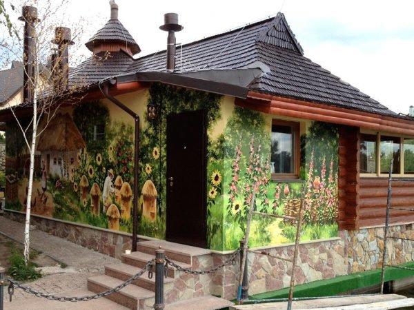 Природные мотивы на фасаде