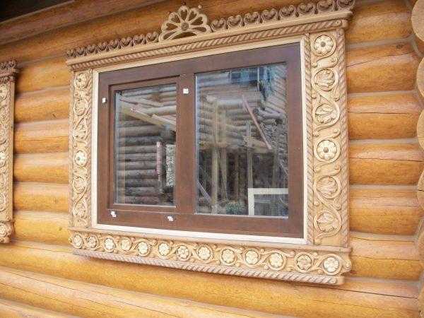 окно в русской бане примеры оформления