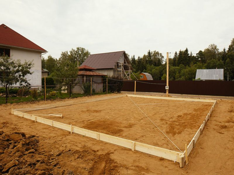 Какой песок лучше для фундамента, другие полезные нюансы