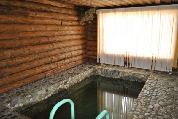 Прямоугольный мини-бассейн