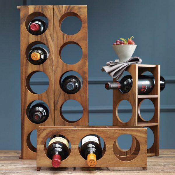 Вариант использования винной полки