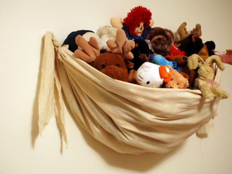 Как организовать хранение мягких игрушек: просто о наболевшем