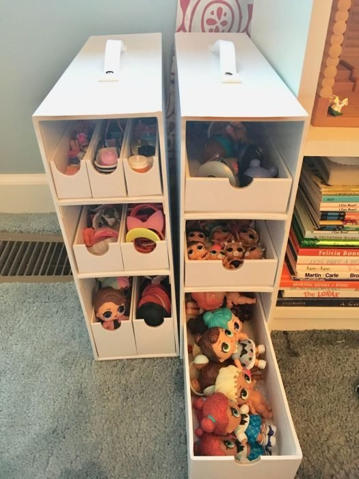 Детский комод для хранения кукол