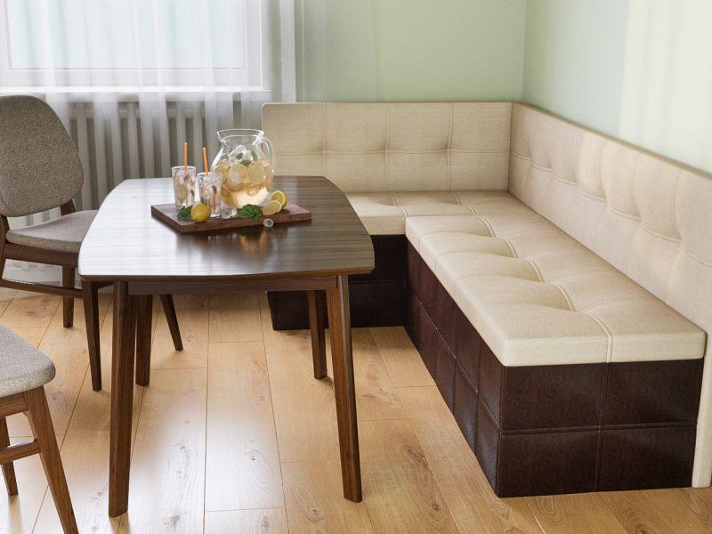 Подборка фотографий диванов для кухни бренда Икеа