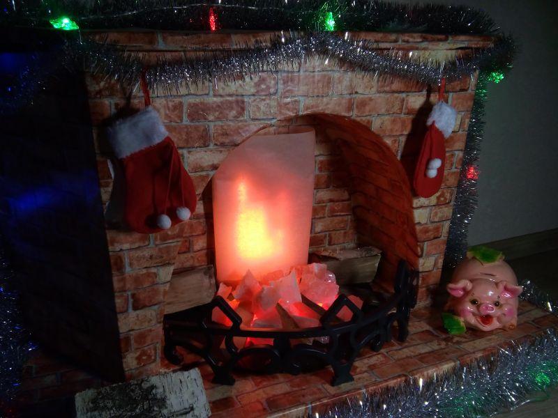 Декоративный огонь для фальш-камина своими руками: пошаговая инструкция