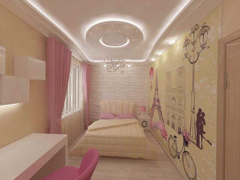 Комната в стиле Париж для девочки: оригинальные варианты оформления