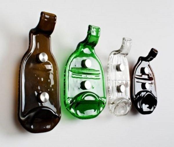 Крючки из бутылок
