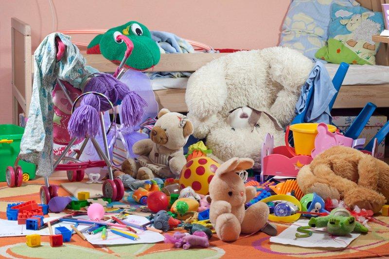 Как избавиться от бардака в детской комнате