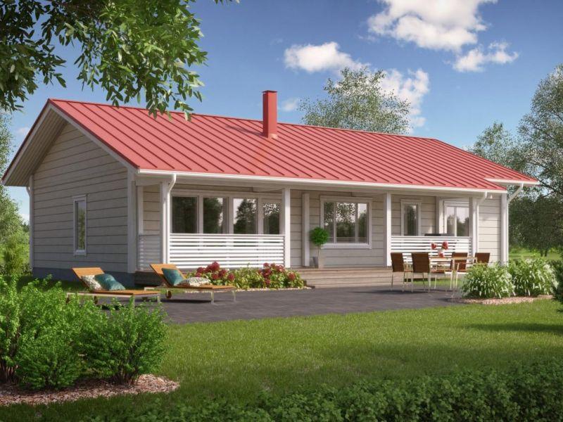Проект одноэтажного дома для большой семьи: варианты на фото