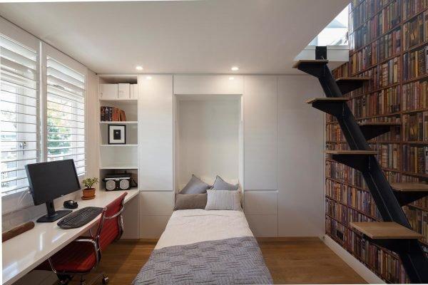 Функциональный интерьер спальни