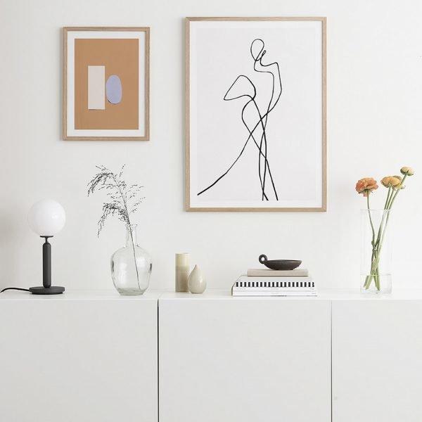 Рисунок в стиле минимализм