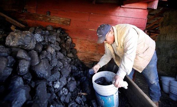 Хранение угля