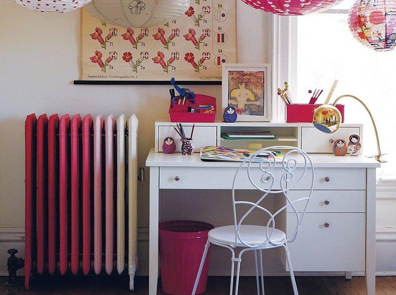 Как красиво покрасить батарею отопления: идеи на фото