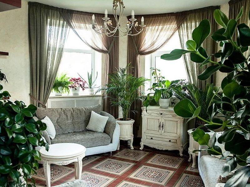 Как создать уютный интерьер с помощью растений: озеленение помещений с красотой и пользой