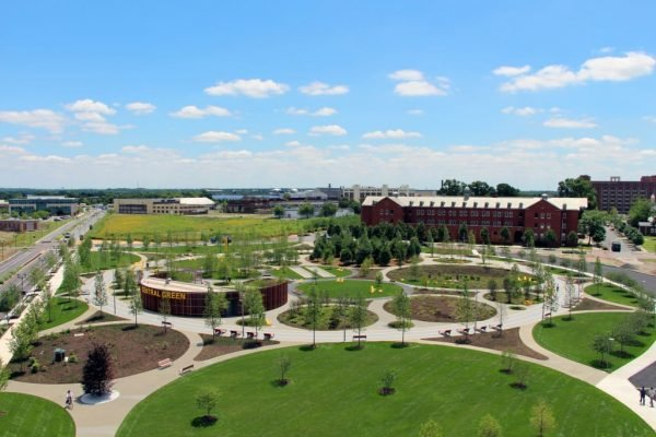 Navy Yards Central Green