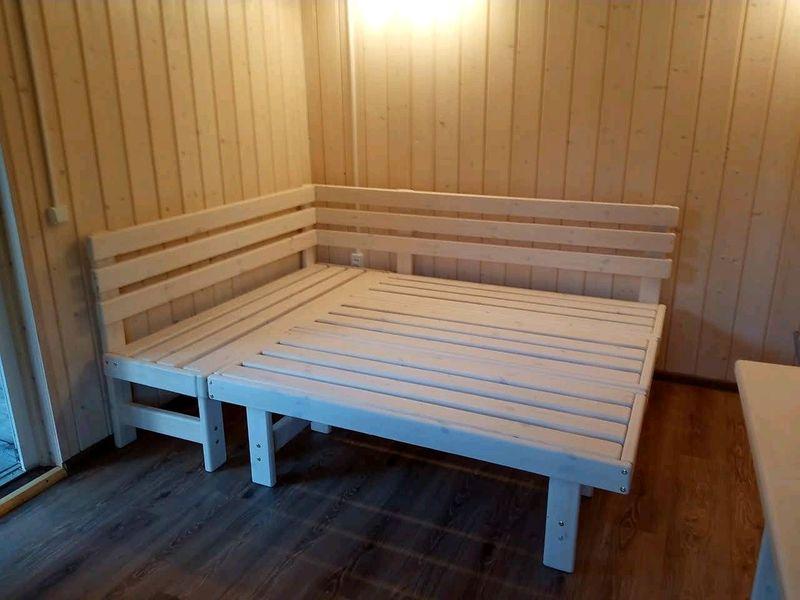 Мебель для предбанника: красивые и комфортные решения для владельцев бань