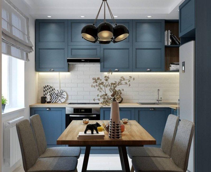 Дизайн обеденной зоны маленькой кухни в хрущёвке: фото для вдохновения