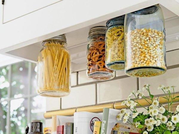 Подвесные банки с сыпучими продуктами